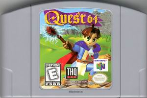 Quest 64 (USA) Cart Scan